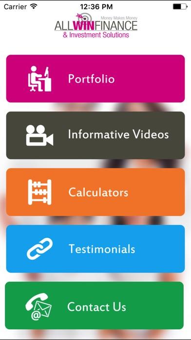 Allwin Finance screenshot 1