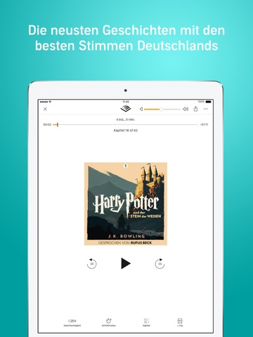 Audible audio books & podcasts screenshot 1