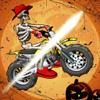 Shahnoor Ahmed - Halloween Bike Riders Smash  artwork