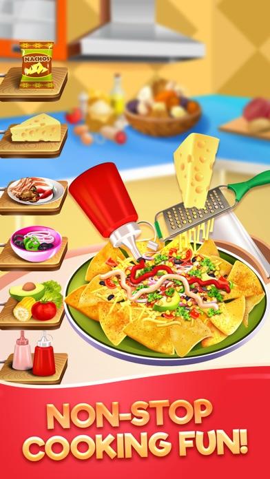 Food Maker Kitchen Cook Games Screenshot on iOS