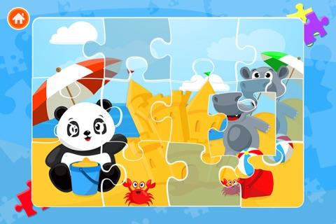 Cute Panda Jigsaw Puzzles For Kids & Toddlers screenshot 2