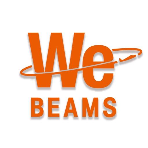 BEAMSの公式スマートフォンアプリ「WeBEAMS」
