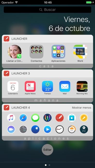 download Launcher con widget apps 4