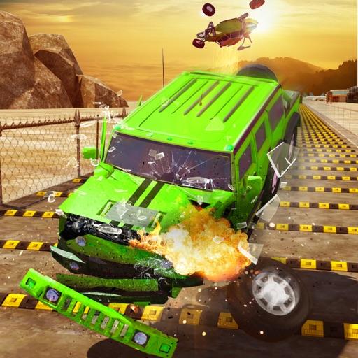 Speed Bump Car Crash Derby 3D