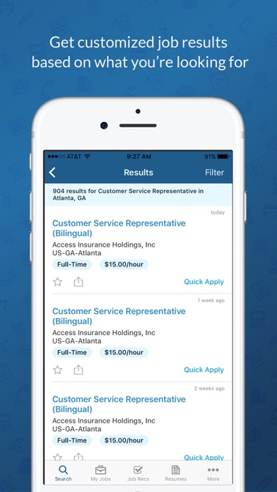 The smartphone space is flooded with apps for job seekers, but yesterday an iPhone application for employers made its debut. Job site CareerBuilder's app, called CareerBuilder for Employers, is being touted as the first of its kind because only hiring managers and .
