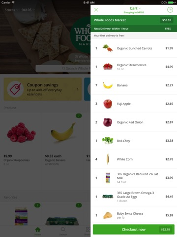 Instacart screenshot 4