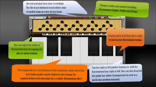 Harmonium Plus HD Screenshot