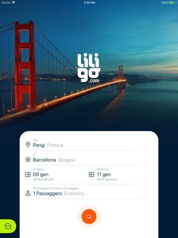 Liligo: Flights, Hotels & Cars screenshot 1
