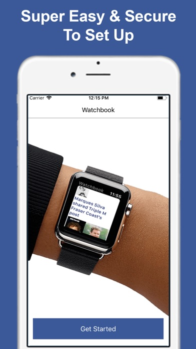 Watchbook - Watch for Facebook Screenshot 4