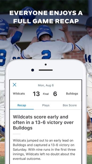 GameChanger Baseball Softball Скриншоты6