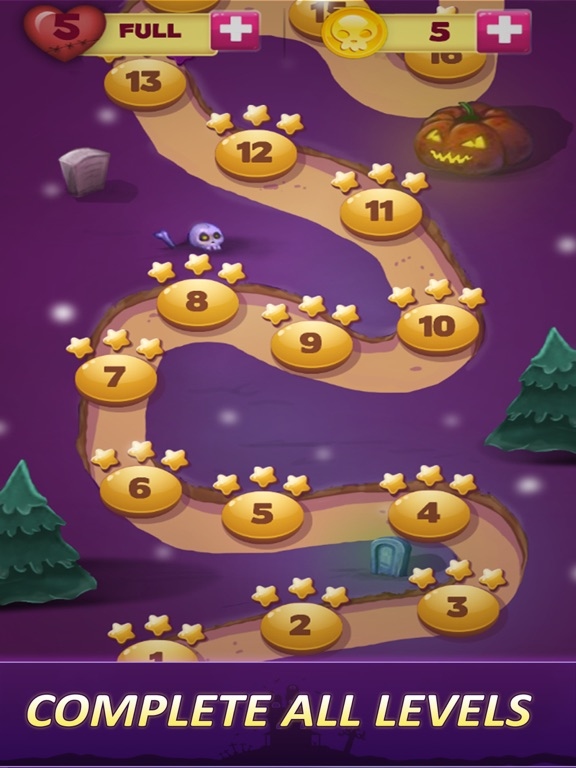 Halloween Games Witching Hour Скриншоты6