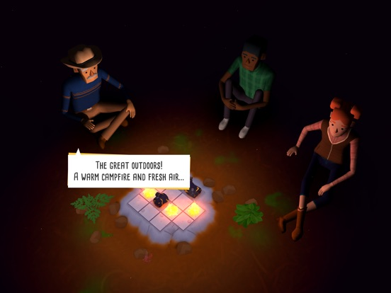 Игра Campfire Cooking