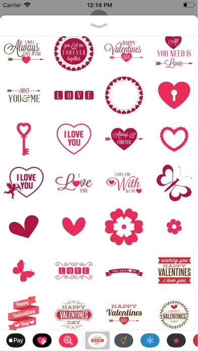 download Valentines Sticker apps 2