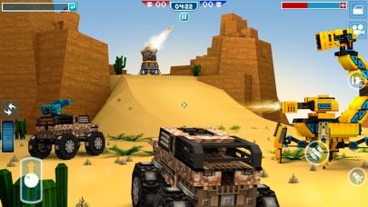 ピクセル車 ( Blocky Cars Online )のスクリーンショット1