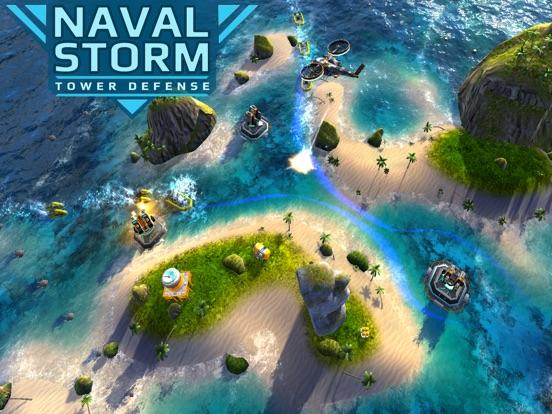 Screenshot 1 Naval Storm TD