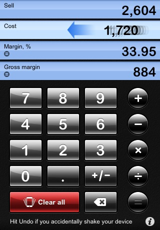 iMargin - Margin Calculator screenshot 3