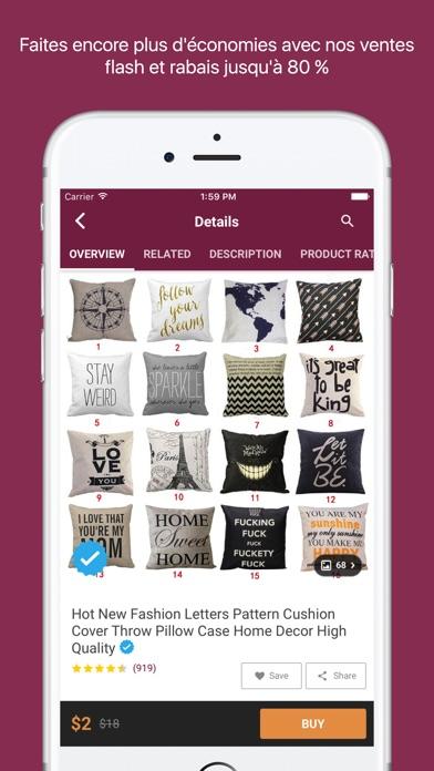 Home Shopping décor et designCapture d'écran de 3