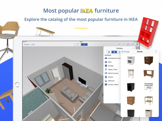 swedish home planner for ikea on the app store. Black Bedroom Furniture Sets. Home Design Ideas