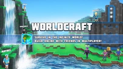 Screenshots of WorldCraft : 3D Build & Craft for iPhone