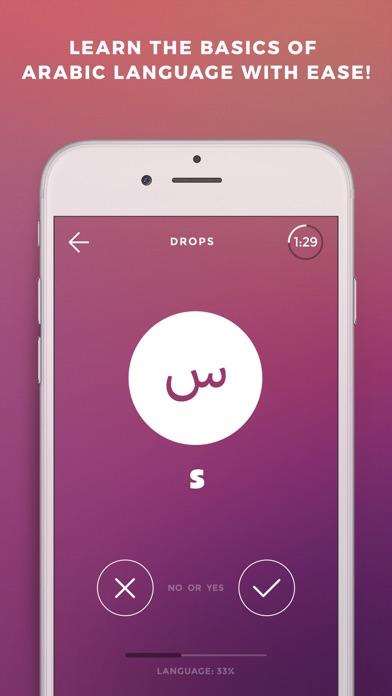 Screenshot #6 for Drops: Learn Arabic language