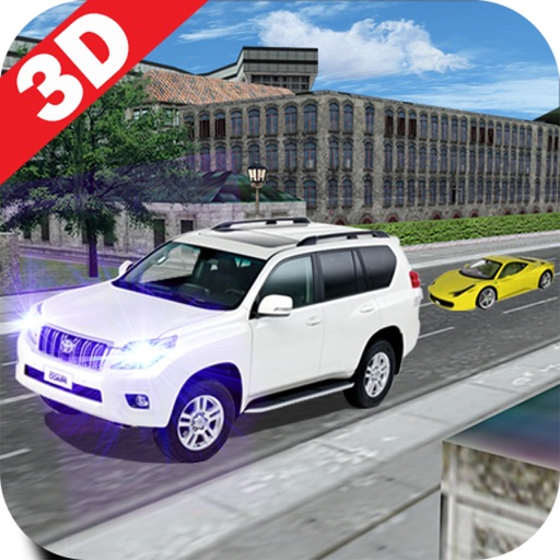 Tourist Luxury Prado Simulation-s