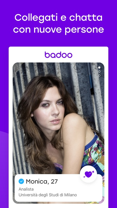Screenshot of Badoo - Incontra gente nuova2