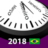 Calendário 2018 Brasil AdFree