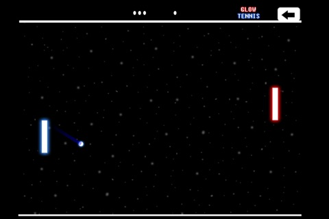 Glow Tennis screenshot 1