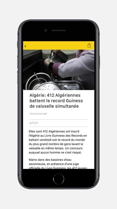 Africanews: l'actu 24/24Capture d'écran de 2