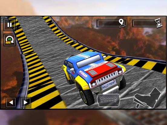 Impossible Car Stunt Track screenshot 8