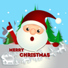 Happy Santa Animated Stickers