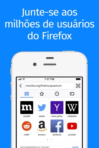 Firefox Web Browser screenshot 1