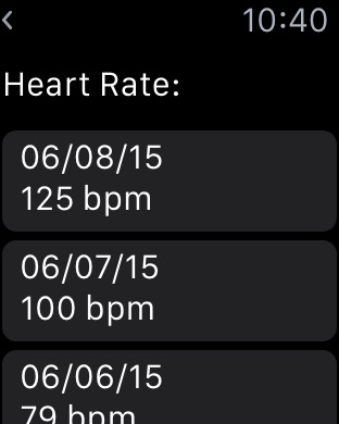 Screenshot #6 for Dashboard for Apple Health App