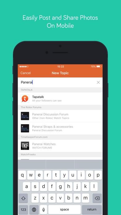 Tapatalk - 200,000+ Forums Screenshots