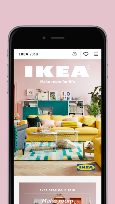 iPhone Screenshot 1. IKEA Catalog on the App Store