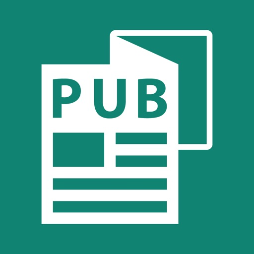 PUB Reader - for MS Publisher iOS App