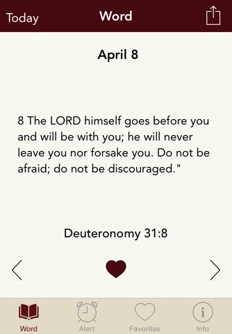 Word Alert: Daily Bible Verses screenshot 1
