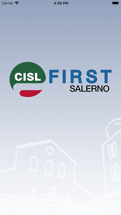 Screenshot of CISL FIRST Salerno1