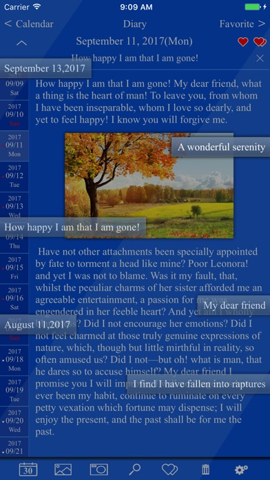 Edge Diary Screenshot