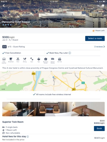 Travelocity Hotel, Flight, Car screenshot 3