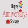Happy Anniversary Sticker 2018