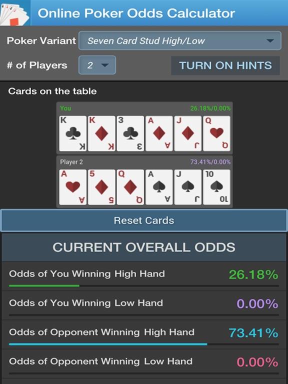 Poker odds reviews
