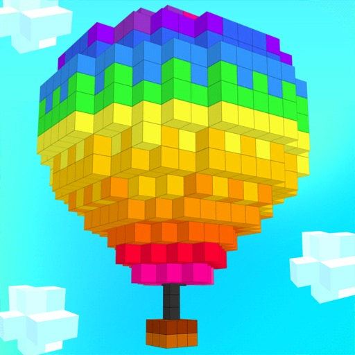 ColorZ - 3D Pixel Art app for ipad