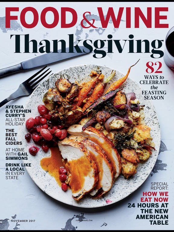 Image result for food and wine november 2017