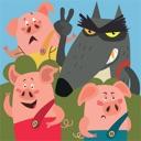 Die Abenteuer der drei kleinen Schweinchen