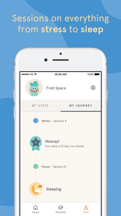 Screenshots of Headspace: Guided Meditation and Mindfulness for iPhone