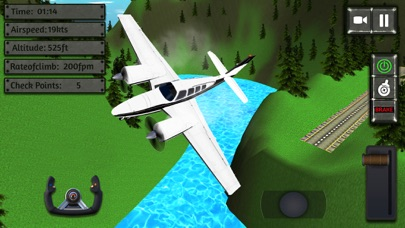 Screenshot of Sea Plane Simulator:flight sim4