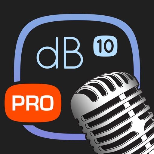 Decibel 10 PRO: プロフェッショナルノイズメーター
