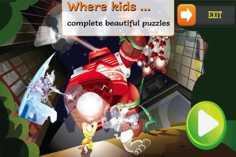 PUZZINGO Superhero Puzzles screenshot 2