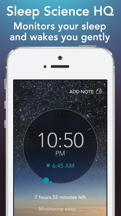 Sleep Science HQ: alarm clock Screenshots